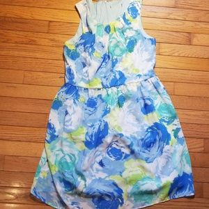 Beautiful floral patterned dress